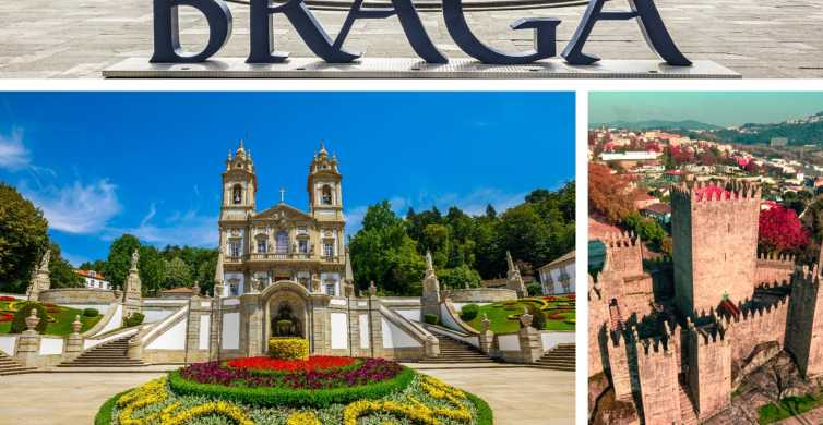 Do Porto: Excursão de 1 Dia a Braga e Guimarães com Almoço