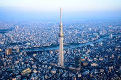 Tóquio: Ingresso Skytree