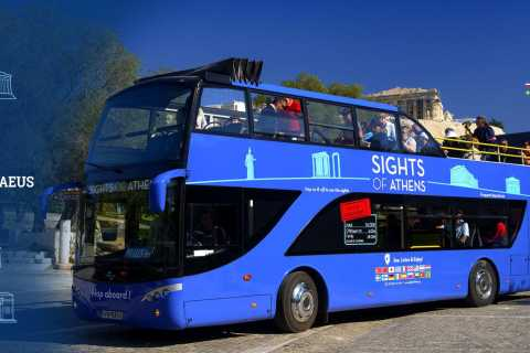 Atene: bus blu hop-on hop-off e Museo dell'Acropoli
