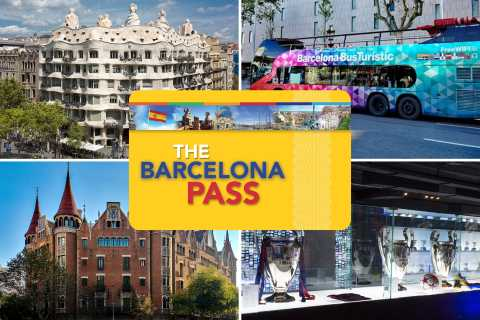 Barcelona: Entry to 20+ Attractions with The Barcelona Pass