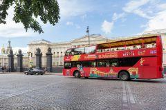 São Petersburgo: Circuito Hop-On Hop-Off e Passeio de Barco