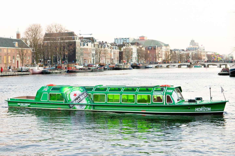 Amsterdam: Kombi-Ticket Heineken Experience & Grachtenfahrt