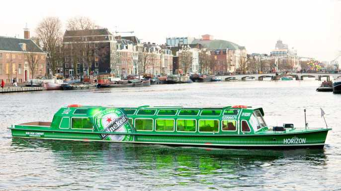 Ámsterdam: crucero por canales y Heineken Experience