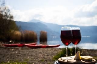 Rom: Kajakspeisen und Weinreise im Castel Gandolfo See