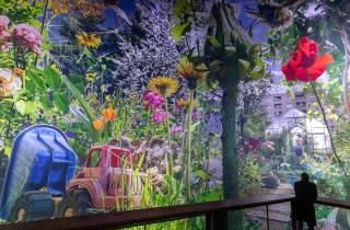 Leipzig: Eintrittskarte zur 360°-Ausstellung Carolas Garten