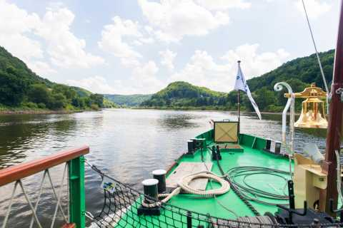 From Pirna: Saxon Switzerland Boat Trip