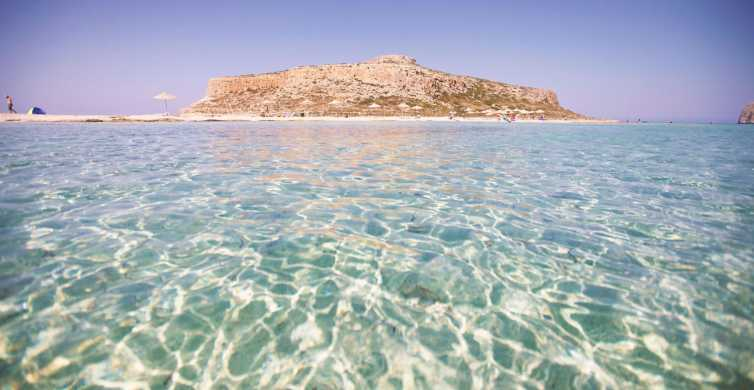From Heraklion: Full-Day Gramvousa and Balos Tour
