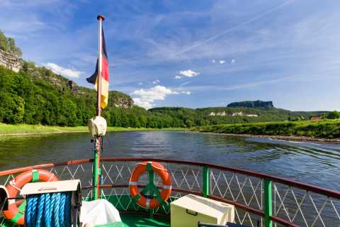 Bad Schandau: Saxon Switzerland Boat Trip