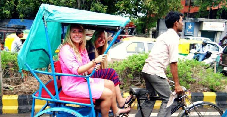 Old Delhi: 3-Hour Tuk-Tuk/Rickshaw Tour
