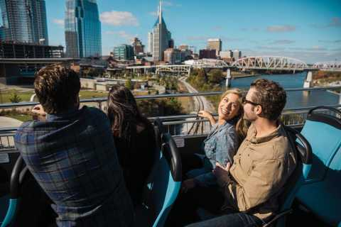 ナッシュビル:ダブルデッカーシティツアー