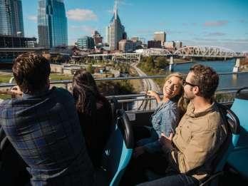 Nashville: Stadtrundfahrt im Doppeldeckerbus
