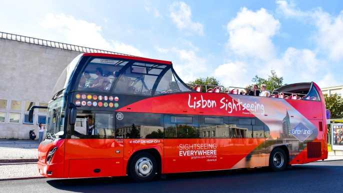 Lisboa: tour en autobús con paradas libres