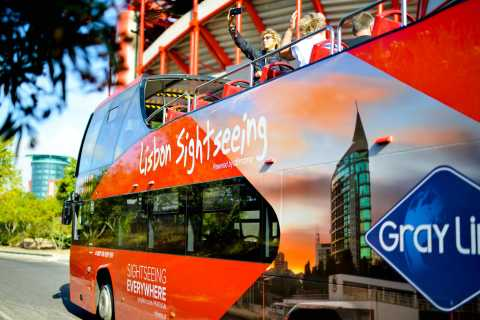 Lisbon: Four Lines Hop-on Hop-off Bus and Boat Ticket