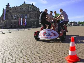 Dresden: Sightseeing-Tour per ConferenceBike