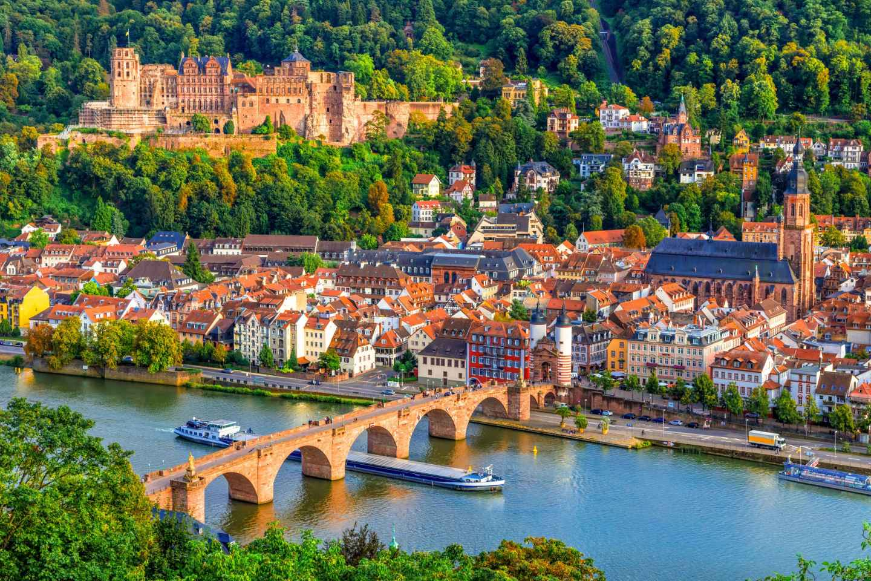 Ab Frankfurt: Heidelberg & Rothenburg Tagestour