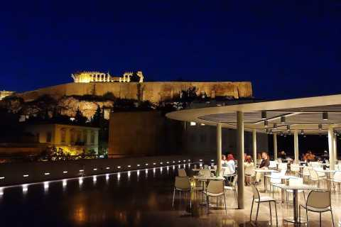 Athens: Friday Night Acropolis Museum Visit with Dinner