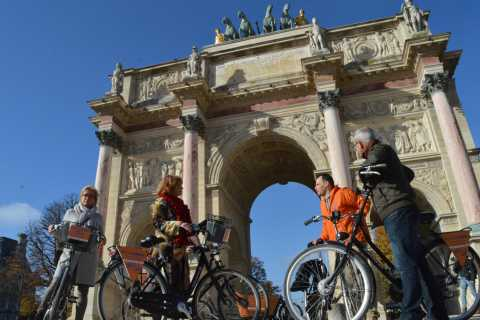 Paris: Full-Day Bike Rental with Morning Guided Tour