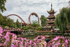 Copenhague: Atrações Ilimitadas nos Jardins de Tivoli 1 Dia