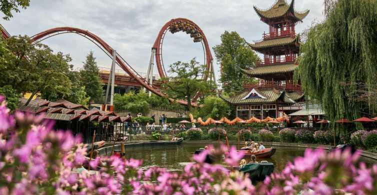 Copenhagen Tivoli Gardens 1-Day Unlimited Rides Ticket