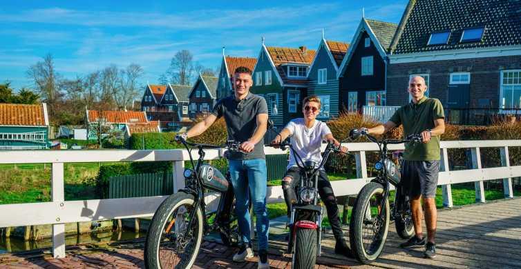 E-Fatbike Rental Volendam - Countryside of Amsterdam