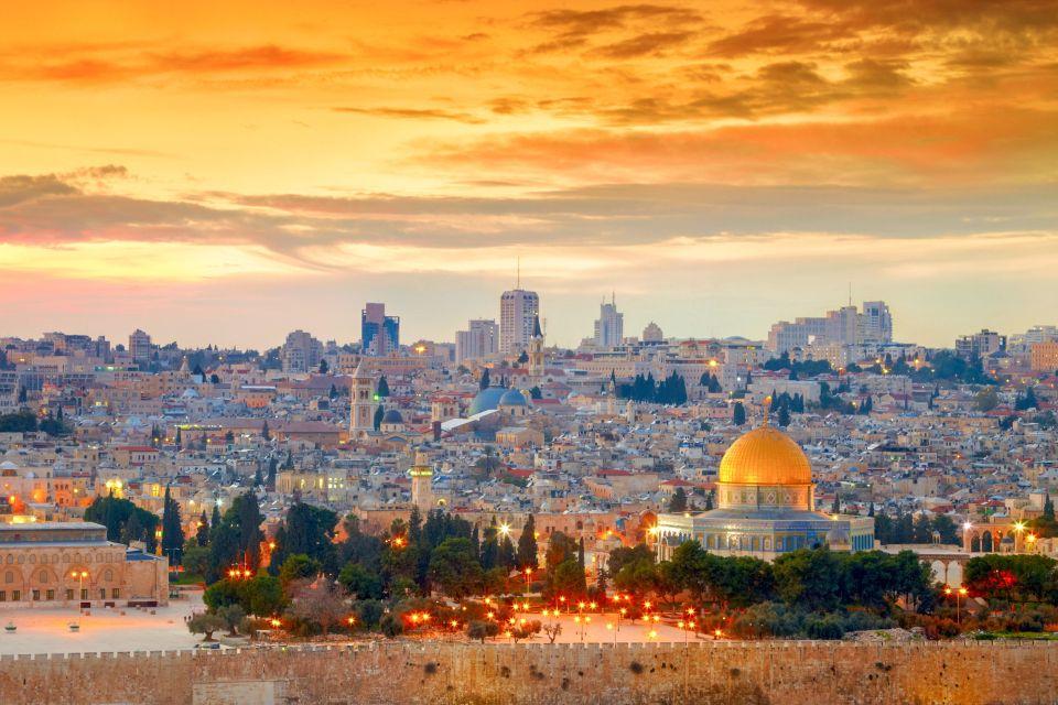 Całodniowa wycieczka do Jerozolimy, Betlejem i nad Morze Martwe
