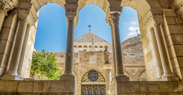Vanuit Jeruzalem of Tel Aviv: halve dag naar Bethlehem