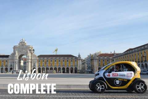 Lisbon: Full-Day E-Car Driving Experience & GPS Audio Guide