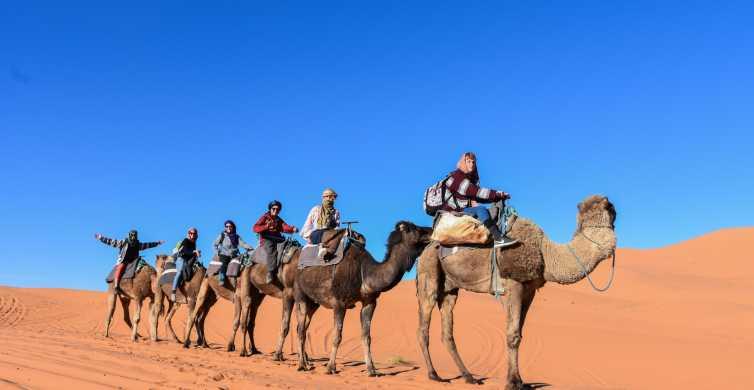 Viagem pelo Deserto de Fez a Marrakech 3 Dias e 2 Noites