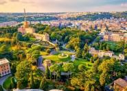 Vatikanische Gärten: Tour im Minibus