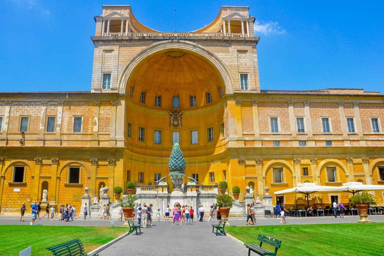 Vatikan-Museen & Sixtinische Kapelle: Führung ohne Anstehen