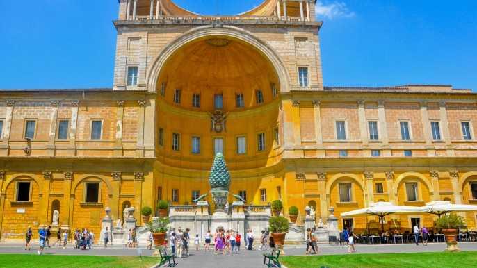 Vaticano y Capilla Sixtina: audioguía y acceso sin colas
