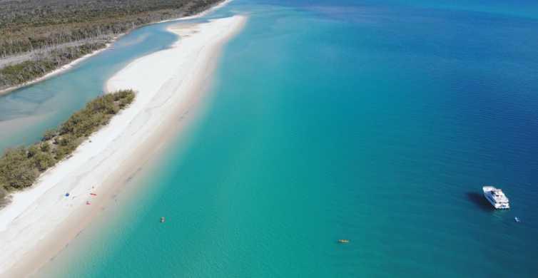 Fraser Island: Beach and Aussie BBQ Cruise from Hervey Bay
