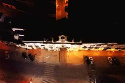 Faro: Passeio noturno de Segway com coquetel