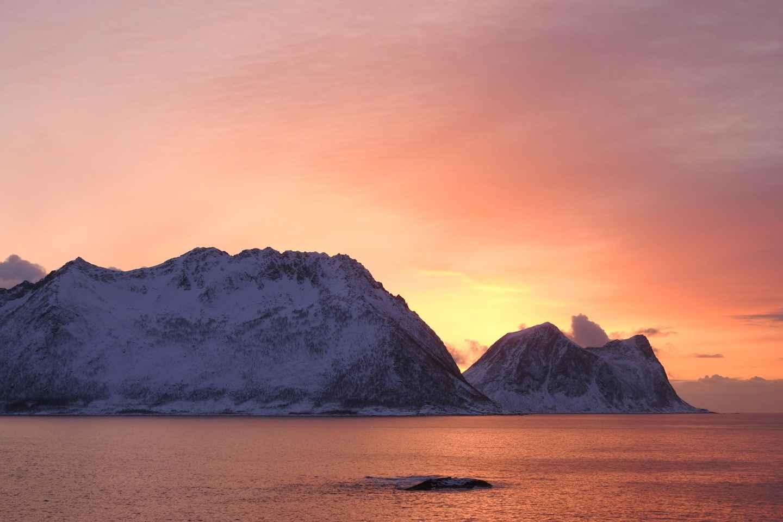 Tromsø: Mitternachts-Bootstour