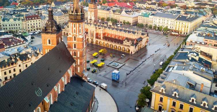Desde Varsovia: Auschwitz y Cracovia Tour de bajo costo con recogida