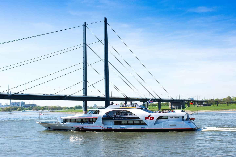 Düsseldorf: 1-stündige Panoramafahrt auf dem Rhein