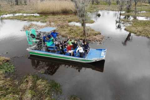 New Orleans: High-Speed Airboat Swamp Tour with Transfers