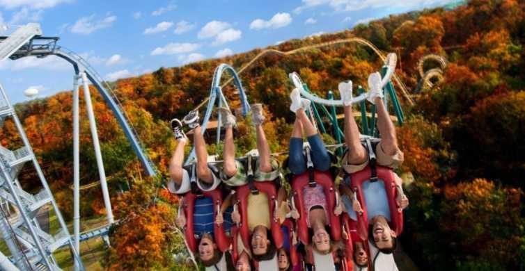 Williamsburg: Busch Gardens Ticket & Water Country Option