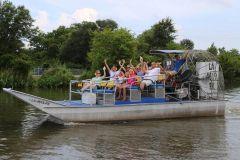 Nova Orleans: alta velocidade 16 Passageiros de Passeio de Aerobarco