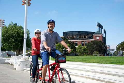 San Francisco: noleggio biciclette tandem e tour senza guida