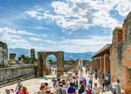 Ab Neapel: Private Tagestour nach Pompeji und Capri