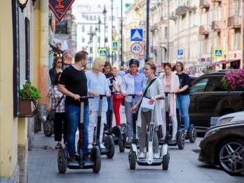 St. Petersburg: 2,5-stündige Segway Sightseeingtour