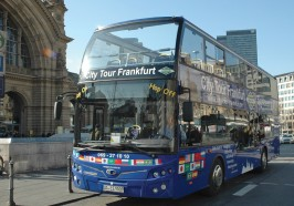 Wat te doen in Frankfurt/Main - Frankfurt: hop on, hop off-sightseeingtour