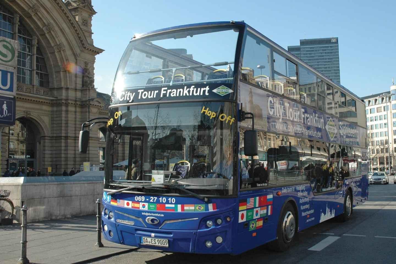 Frankfurt: Hop-On/Hop-Off-Tour Finanzdistrikt & Kathedrale