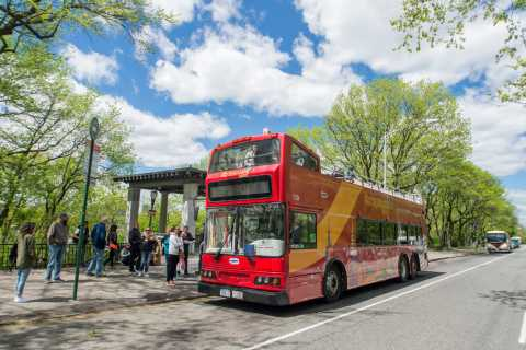New York: Hop-On Hop-Off Bus Tour and Attractions