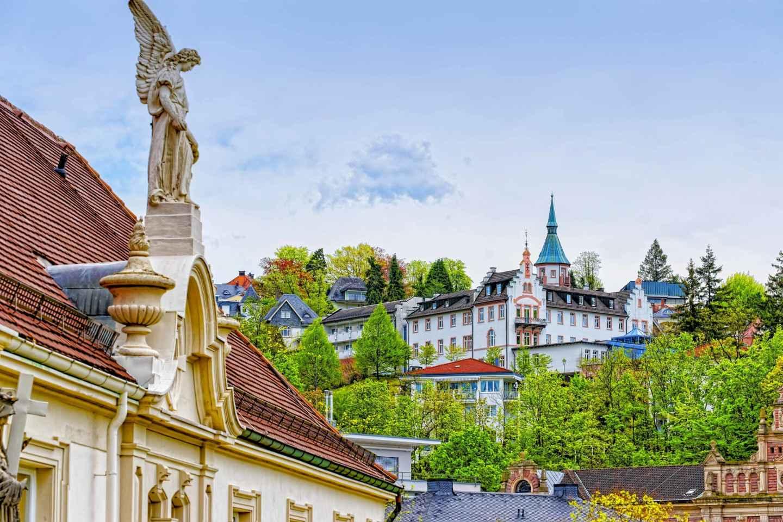 Ab Frankfurt: Heidelberg & Baden-Baden Tagestour