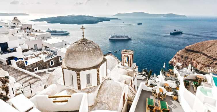 Island Bus Tour: The Majestic Spots Of Santorini