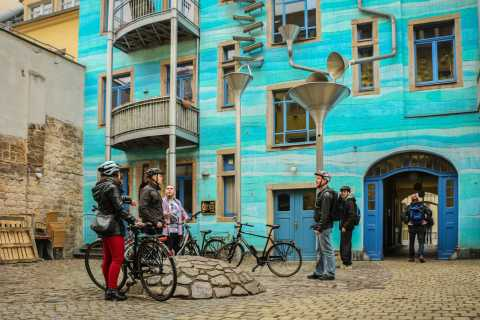 Dresden: Sightseeing-Tour in German by Bike