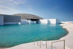 Do Porto de Abu Dhabi: Grande Mesquita e Museu do Louvre