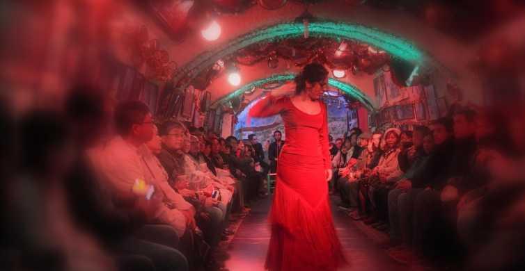 Granada: espectáculo de flamenco de 2 horas en el Sacromonte